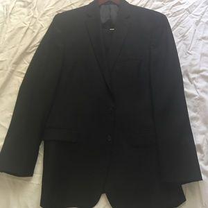 Men's black suit separates Calvin Klein.
